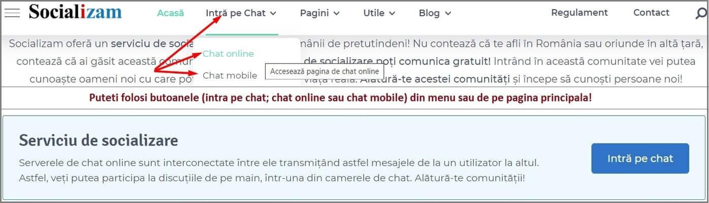 Cum să accesați chat-ul?